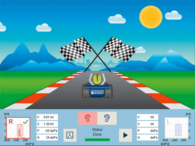 racecar-test-finish-screen